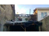 Burdur'da yangın paniği