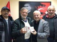 Ünlü sanatçı Ahmet Mekin'den TSYD'ye ziyaret