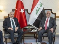 Başbakan Yıldırım, Iraklı mevkidaşı el-İbadi ile bir araya geldi