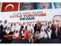 Cumhurbaşkanı Erdoğan'ı zeytin dallarıyla karşıladılar
