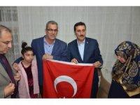 Bakan Tüfenkci'den asker ailelerine ziyaret