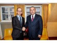 Bakan Çavuşoğlu, Arnavutluk Dışişleri Bakanı Ditmir Bushati ile görüştü