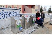 Başiskele'de çöp konteynerleri yerin altına alınıyor