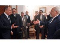 Rusya Dışişleri Bakanı Lavrov, İranlı mevkidaşı ile bir araya geldi