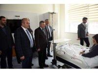 Milletvekili Çelik ve Başkan Arslan, yeni Taşköprü Devlet Hastanesi'ni ziyaret etti