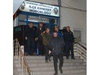 Banka aracını soyup Eskişehir'e kaçmışlar
