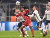 UEFA Şampiyonlar Ligi: Bayern Münih: 1 - Beşiktaş: 0 (İlk yarı)