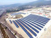 Bolu'da kurulan Güneş Enerji Santrali ile 10 bin hanelik enerji üretilecek