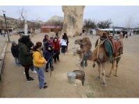 Engelli çocuklar Kapadokya'yı gezdi