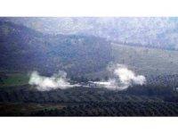 Darmık Dağı arkasındaki YPG mevzileri yerle bir oldu