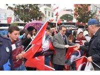 Afrin Şehitleri için lokma hayrı yapıldı