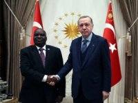 Cumhurbaşkanı Erdoğan, Burundi Meclis Başkanını kabul etti
