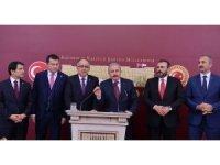 AK Parti ve MHP'nin 26 maddelik seçim ittifakı teklifi Meclise sunuldu