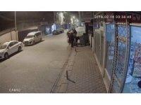 Karton toplayan hırsızlar rögar kapağını çaldı