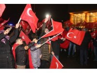 Ağrı'da PÖH'leri Afrin'e binler uğurlandı