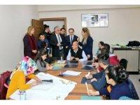 Vali Toprak'tan Engelli Koordinasyon Merkezine ziyaret