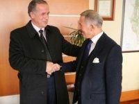 Kosova Malişeva Belediye Başkanı Begaj'dan Başkan Aydıner'e ziyaret