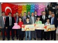 Samsun'da dereceye giren öğrenciler ödüllendirildi