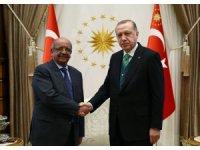 Cumhurbaşkanı Erdoğan, Cezayir Dışişleri Bakanı'nı kabul etti