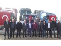 Taşıyıcılardan Mehmetçik Vakfı'na 100 bin TL bağış