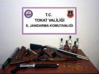 Tokat'ta silah kaçakçılarına yönelik operasyon