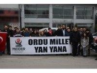 Mehmetçiklere destek için yola çıktılar
