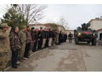 Elazığ'dan özel harekatçılar Afrin'e uğurlandı