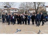 Makedonya Cumhurbaşkanı Ivanov'dan Altındağ'a ziyaret