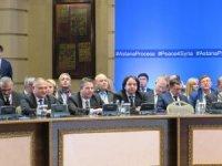 'Astana'da varılan anlaşmalar kağıt üzerinde kalmamalı'