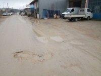 Bilecik'te Küçük Sanayi Sitesi esnafı yol mağduru