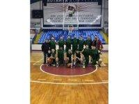 Kütahya Belediyespor Basketbol Takımı şampiyon