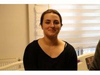 Alman genç kadın Samsun'da kilolarından kurtuldu