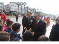 Atatürk'ün Marmaris'e gelişi törenle kutlandı