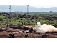 Teröristlerin üzerine bomba yağıyor