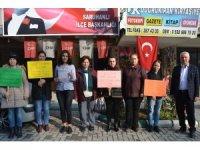 Saruhanlı CHP'den çocuk istismarına tepki