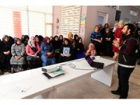 Kadınlara uyuşturucu ile mücadele semineri