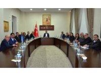TEB Genel Başkanı Çolak Vali Tekinarslan ile bir araya geldi