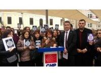 CHP'li kadınlardan 'çocuk istismarı' tepkisi