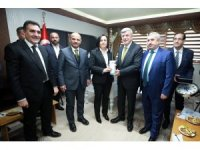 Başkan Karaosmanoğlu, STK ziyaretinde bulundu