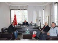 Türkiye Kürek Federasyonu Başkanı İşseven'den Başkan Karaçelik'e ziyaret
