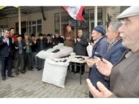 Erkeklerin çorap örmesiyle meşhur olan köy de Afrin için seferber oldu