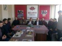 MAZLUM-DER Kayseri Şube Sekreteri Mustafa Kurban: