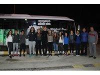 Ayvalıklı Atletler Milli Takım seçmeleri için Antalya'ya gitti