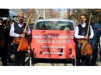 'Zeytin Dalı Harekatına' Halk Ozanlarından sazlı sözlü destek