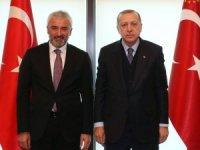 Enver Yılmaz, Cumhurbaşkanı Erdoğan ile görüştü