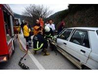 Kazada can pazarı: 2 yaralı