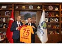 """Mustafa Cengiz: """"UEFA'nın büyüyen ve gelişen Galatasaray'a şans vereceğini umuyorum"""""""