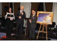 Bakan Soylu'nun kırılmaktan son anda kurtulan tablosu 500 bin liraya satıldı