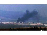 Cinderes'ten dumanlar yükseliyor