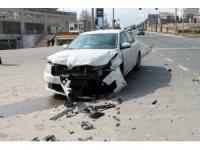 Elazığ'da iki araç çarpıştı : 4 yaralı